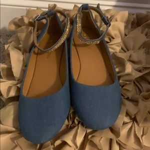 Shoes - Denim ballet style flats